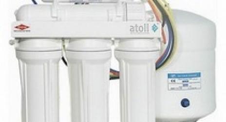 Питьевая система – фильтр обратного осмоса под мойку Atoll