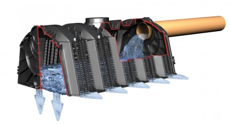 Отвод и утилизация грунтовых ливневых и сточных вод